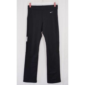 Nike Dri-Fit Black Fleece Lined Training Pants XS